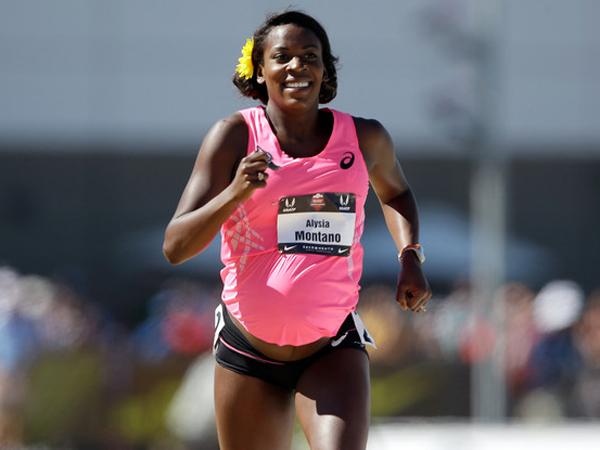 Wanita Ini Ikut Lomba Lari Saat Hamil 8 Bulan!