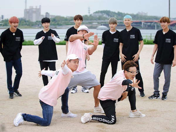 Tidak Mau Kalah Dengan BTS, Member 'Running Man' Berpose Layaknya Idol