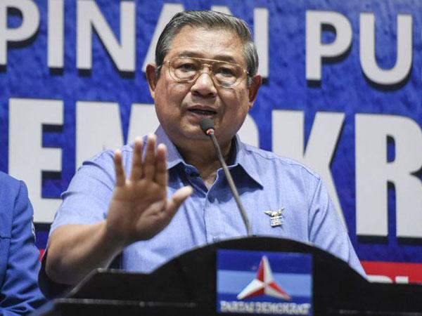 Niat Menyesatkan, SBY Laporkan Pengacara Setnov ke Bareskrim Polri
