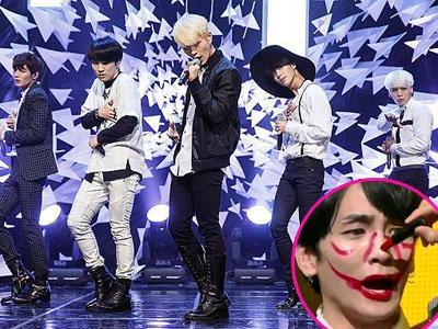 Rayakan Kemenangan, Member SHINee Iseng Lukis Wajah Key dengan Lipstick!