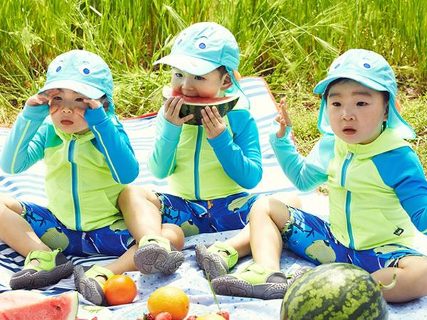 Selalu Menggemaskan, Intip Keseruan Song Triplets Saat Habiskan Libur Musim Panas!