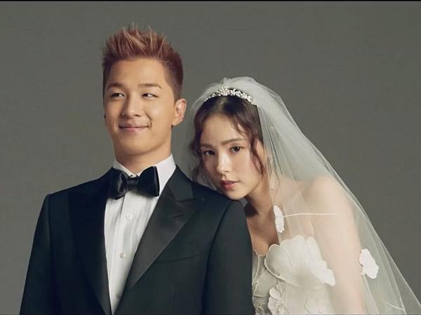 Agensi Tanggapi Rumor Putus Taeyang Big Bang dan Min Hyo Rin