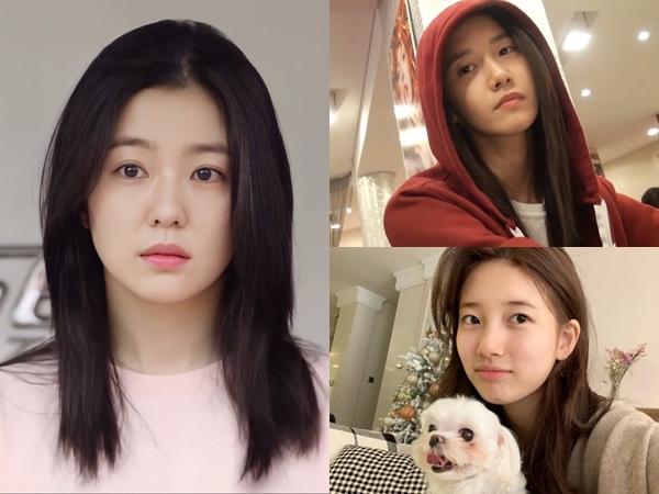 Deretan Idol K-Pop Dengan Bare Face Terbaik (Part 1)