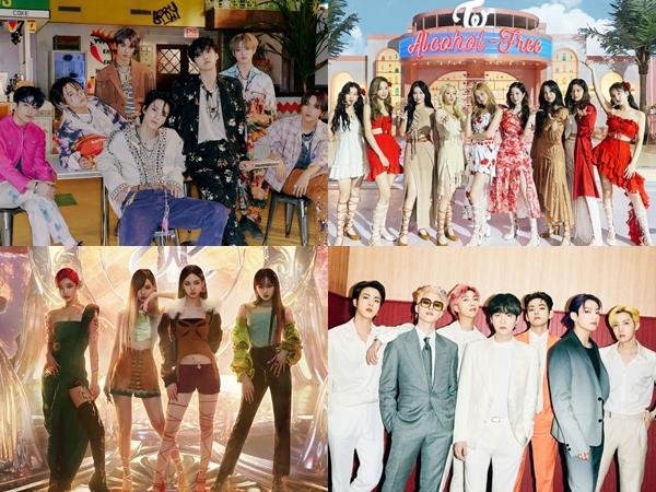 Deretan Lagu K-Pop Favorit Netizen di Paruh Pertama Tahun 2021