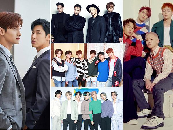 TVXQ Hingga BTS Masuk Daftar Lagu Boy Band Terbaik Sepanjang Masa Rolling Stone