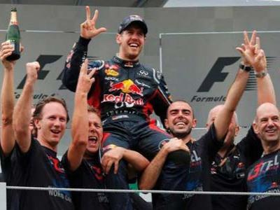 Bos Red Bull Anggap Vettel Belum Capai Puncak