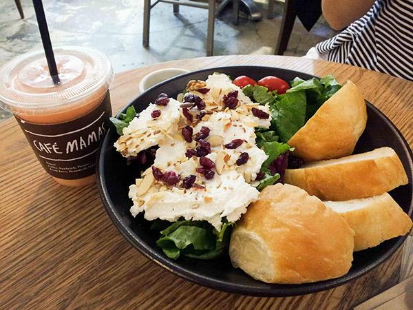 Cobain Ricotta Cheese Salad Hits Korea Sehat nan Lezat di Cafe Mamas