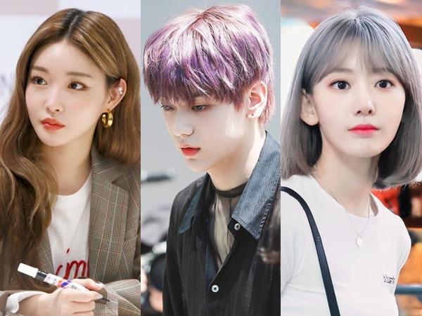 Inspirasi 7 Tren Gaya Warna Rambut Ala Idol K-Pop 2021