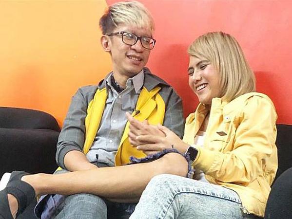 2 Tahun Cerai, Aming dan Evelyn Nada Anjani Pacaran Lagi