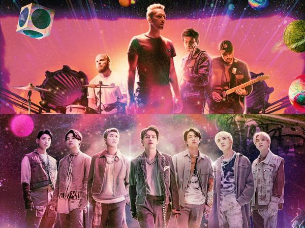 BTS Catat Rekor Baru di Billboard Hot 100 dengan Lagu Kolaborasi Coldplay 'My Universe'