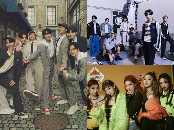 BTS Kembali Puncaki Chart Billboard World Albums, ENHYPEN Hingga ITZY Bertahan