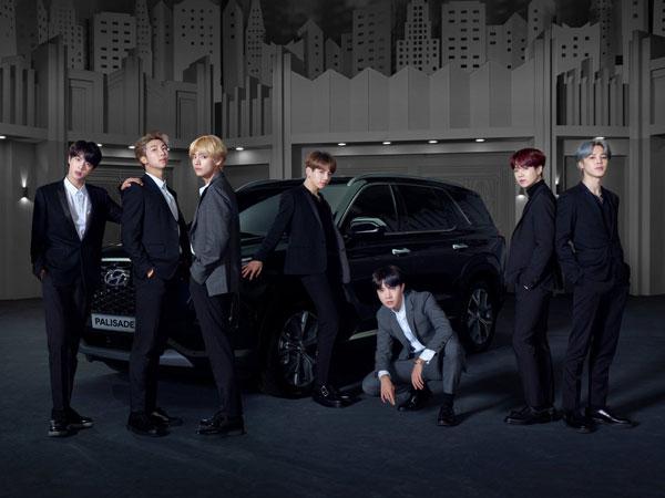 Tampil Kece dengan SUV Mewah, BTS Jadi Brand Ambassador Global Baru Hyundai Motor