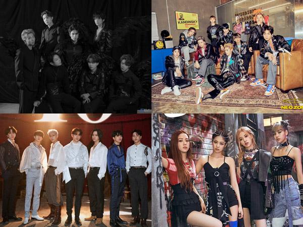GOT7 Masuk Chart dengan Album Baru, BTS Hingga SuperM Bertahan di Billboard World Albums