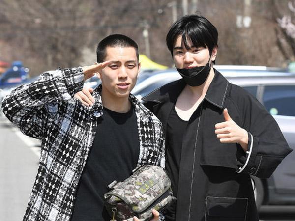 Dongwoo INFINITE Juga Resmi Masuk Wajib Militer Diantar Sungjong