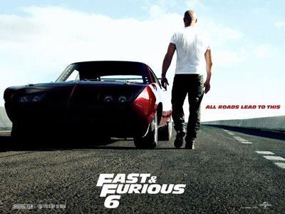 Adegan Kejar-Kejaran Mobil Penuh Adrenalin di Cuplikan Fast and Furious 6