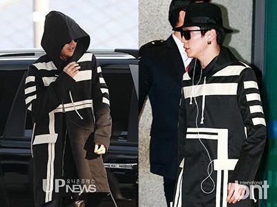 Coat Kembar G-Dragon Big Bang vs Himchan B.A.P: Who Wore It Better?
