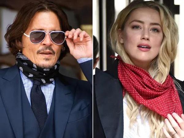 Ngaku Dipukuli Johnny Depp, Amber Heard Tak Punya Bekas Luka