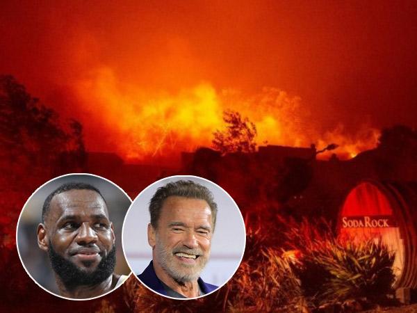 Sejumlah Selebriti Ikut Mengungsi Akibat Kebakaran Hutan di Los Angeles