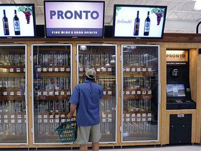 Wow, Kini Ada Mesin Penjual Wine Otomatis