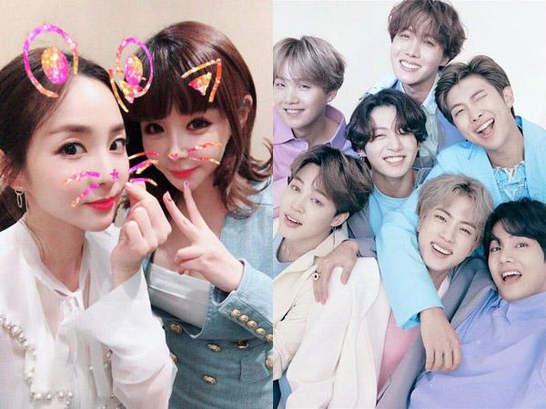 Park Bom Curhat Soal Pentingnya Sandara Park dan Ungkap Keinginan Kolaborasi dengan BTS