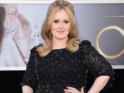 Tampil Menyanyi di Oscar 2013, Adele Kenakan Gaun 15 Kilogram!