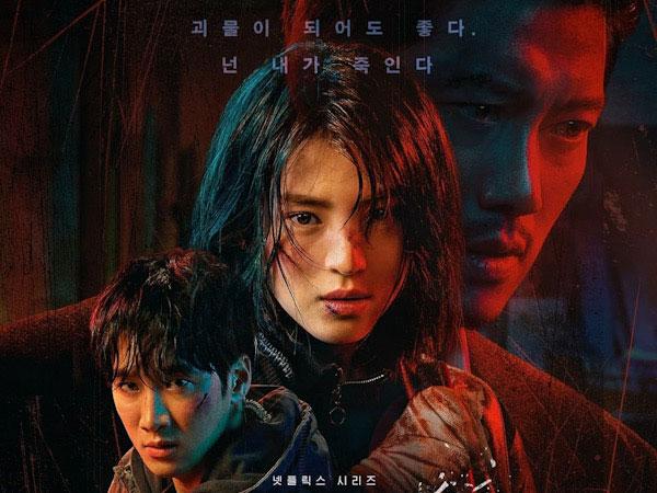 Netflix Rilis Poster Tiga Karakter Utama Drama My Name