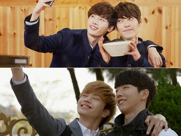 Perbedaan Chemistry Lee Jong Suk-Kim Woo Bin & Nam Joo Hyuk-Sungjae BTOB di Drama 'School'