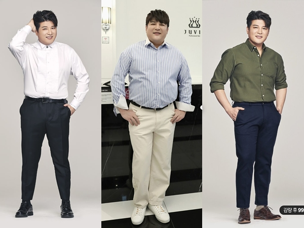 Penampilan Baru Shindong SJ yang Sukses Turunkan Berat Badan 17 Kg