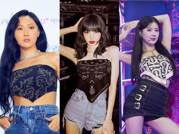 Trik Mix and Match Scarf Top yang Stylish Ala Idola K-Pop
