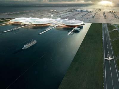 Keren, Bandara London Berlokasi di Sungai Thames!