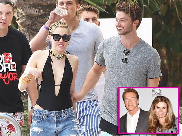 Arnold Schwarzenegger Takut Anaknya Kawin Lari dengan Miley Cyrus!