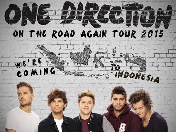 Konser di Jakarta, Ini Permintaan Khusus dari One Direction