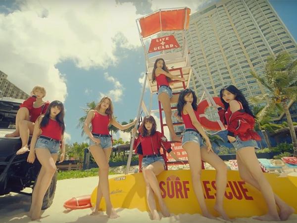 Resmi Comeback, AOA Jadi Baywatch Sexy di Video Musik 'Good Luck'