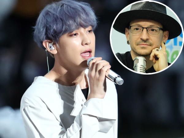 Ikut Berduka, Chanyeol EXO Kenang Chester Bennington dengan Cover Lagu Linkin Park