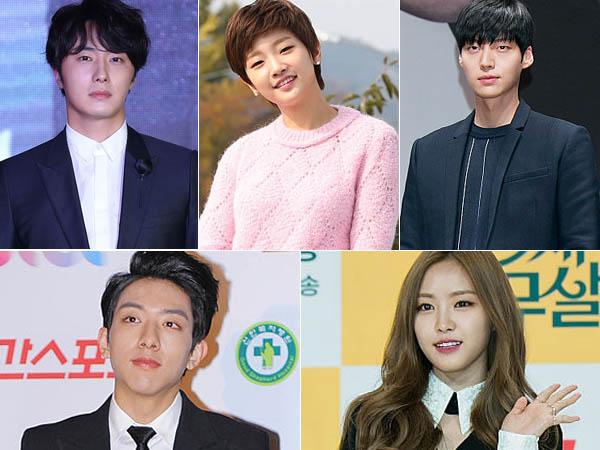 Drama 'Cinderella and the Four Knights' Tunjukan Keseriusan Para Pemeran dalam Pembacaan Skrip Pertama