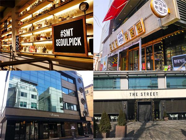 Intip 6 Kafe Hingga Restoran Milik Agensi Hiburan Korea Ini