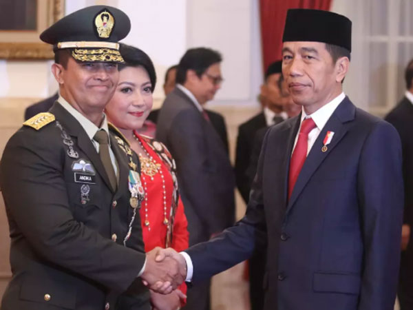 Penjelasan Jokowi Pilih KSAD Andika Perkasa yang Lompati 3 Angkatan