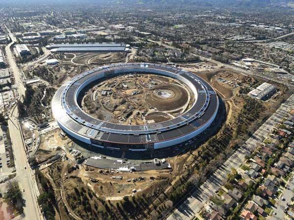 Bak Kapal Luar Angkasa, Intip Fakta Menarik dari Markas Baru Apple