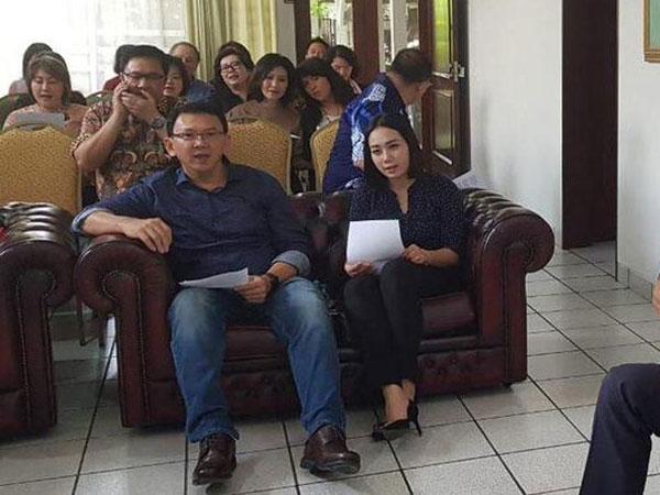 Bebas dari Penjara, Foto-Video Perdana Ahok 'Go Public' Bersanding dengan Bripda Puput Beredar