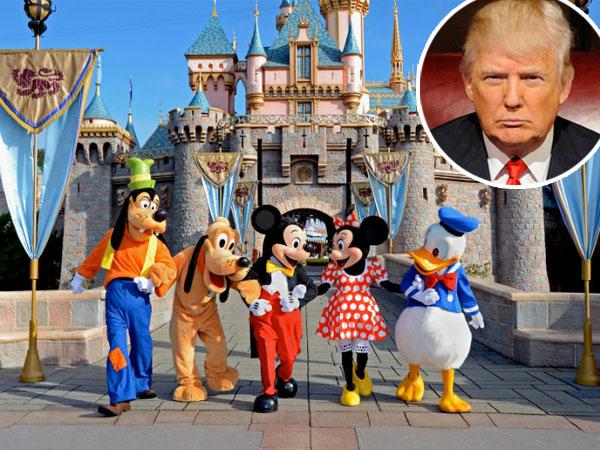Wah, Donald Trump Akan Bangun 'Disneyland' di Bogor