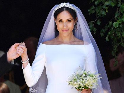 Gaun Pengantin Givenchy Milik Meghan Markle Akan Dipajang di Istana Windsor!