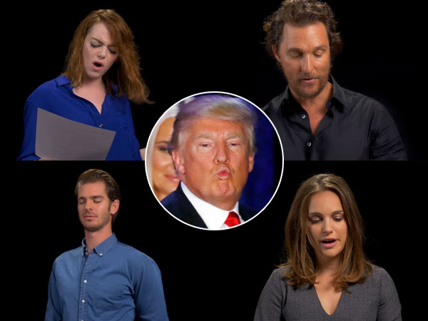 Sambut Pelantikan Donald Trump, Sederet Artis Hollywood Nyanyikan 'I Will Survive'
