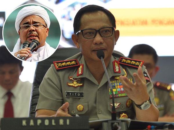 FPI Desak Kapolda Metro dan Jabar Dicopot dari Jabatannya, Ini Tanggapan Tegas Kapolri Tito Karnavian