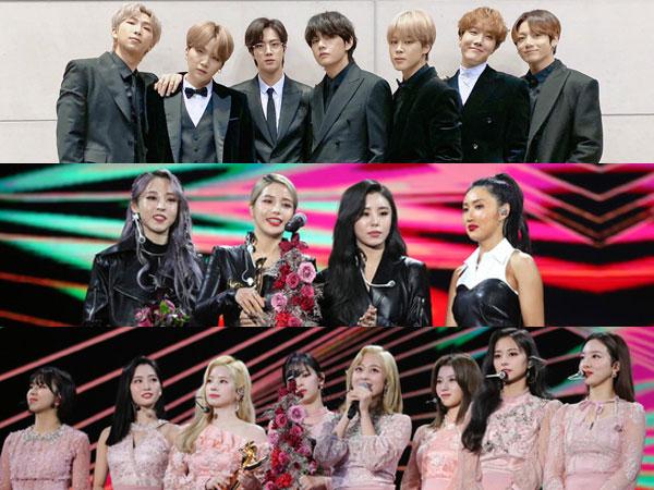 BTS Raih Daesang, Inilah Daftar Pemenang 34th Golden Disc Awards Hari Pertama