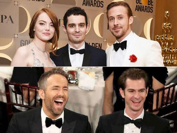 Rebutan Peluk Hingga Ciuman Seru Warnai 'Awkward Moment' Golden Globe 2017