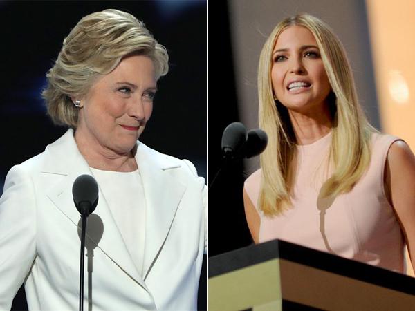 Saingan Berat, Anak Donald Trump Diam-Diam Sumbang Uang ke Hillary Clinton?