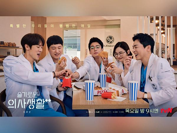 'Hospital Playlist 2' Jadi Drama Korea Paling Diomongin 5 Minggu Berturut