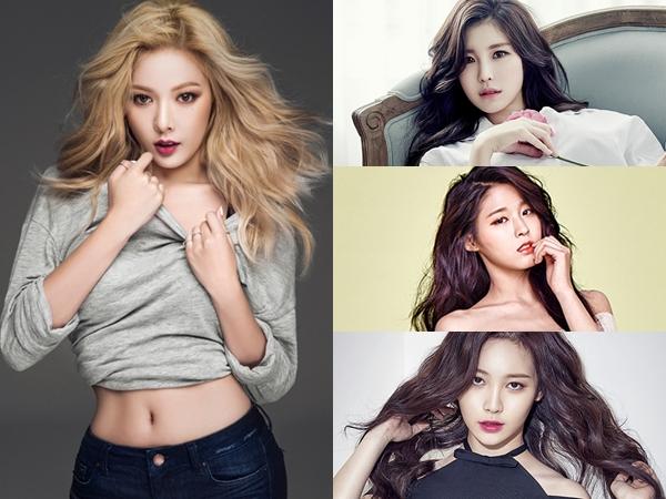Dianggap Seksi dan Keren, HyunA Pilih 3 Member Idola K-Pop Ini Jadi Favoritnya!