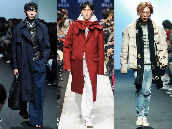 Intip Lagi Gaya Kece Para Idola K-Pop di Runway 'Seoul Fashion Week 2018'