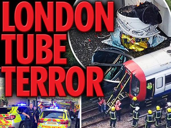 ISIS Sebut Prajuritnya Jadi Pelaku Ledakan Stasiun Bawah Tanah Inggris